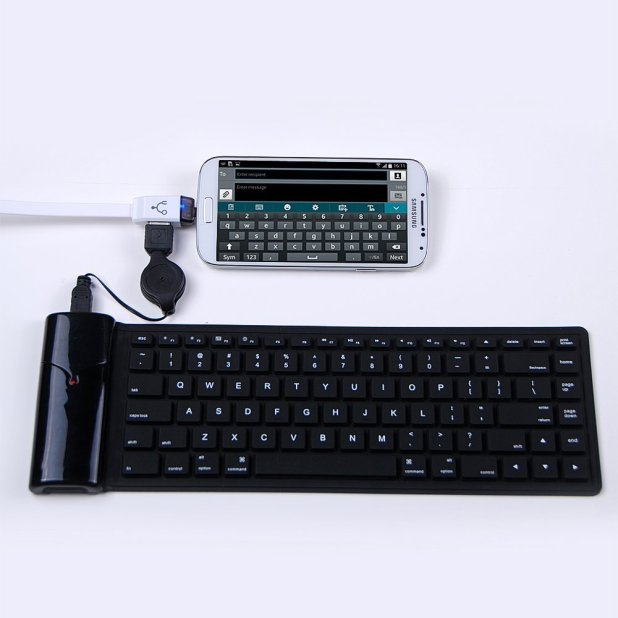 Connect Keyboard with Android Mobile OTG