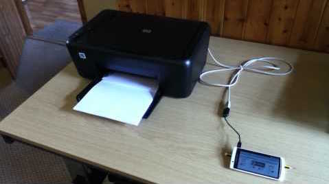 Connect Printer with Android Mobile USB OTG