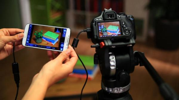 Control DSLR Camera from Android Mobile with USB OTG