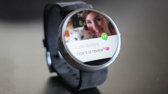 Motorola - Moto 360 Smart Watch for Android