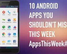 10 Best Android Apps this Week April