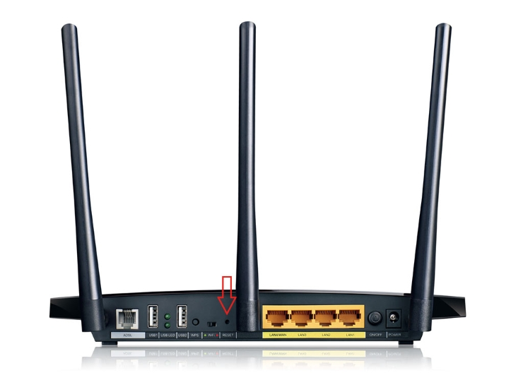 Reset Button in Router
