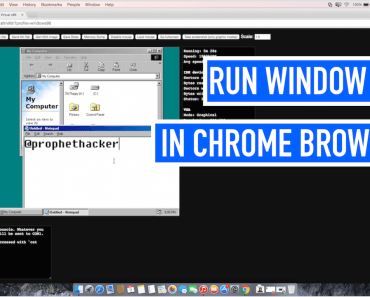 How to Run Windows 98 or Linux entirely in your Chrome browser