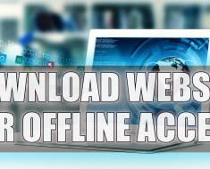 How To Download A Website For Offline Access Using HTTrack?