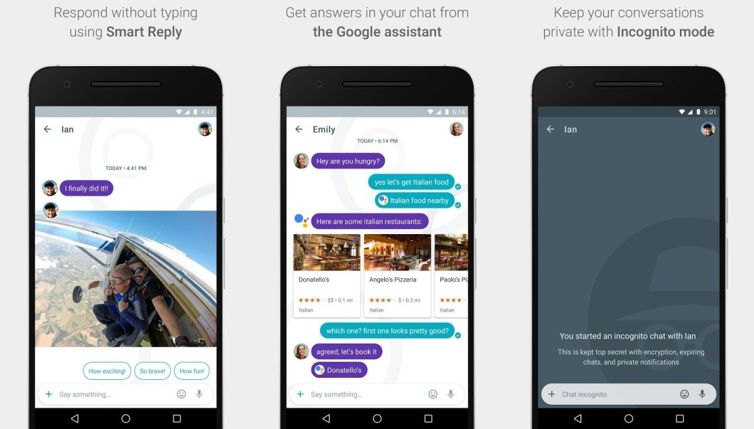 Google Allo - Smart Messenger