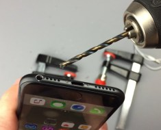 People Are Actually Drilling Holes In Their iPhone 7s For The 'Secret' Headphone Jack