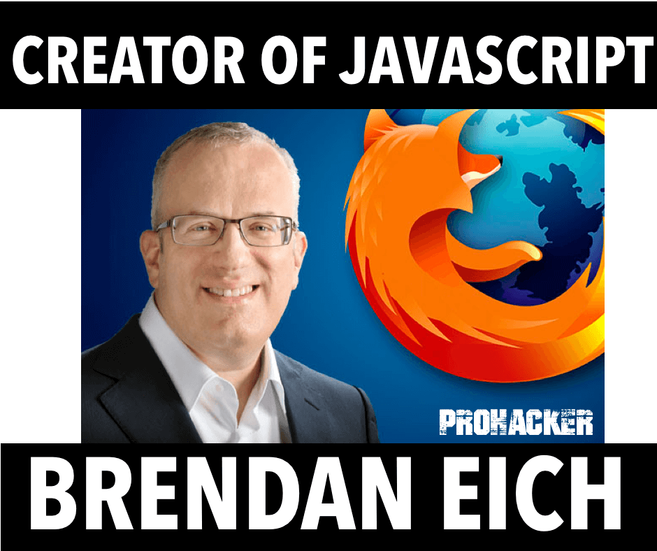 Creator of Javascript