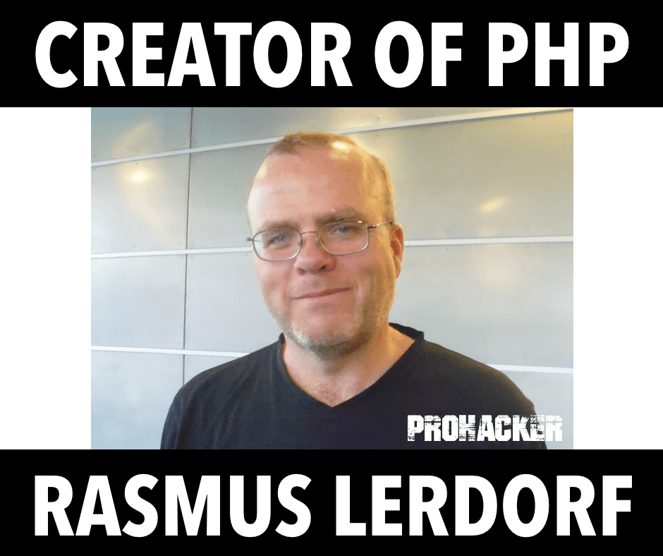 Creator of PHP