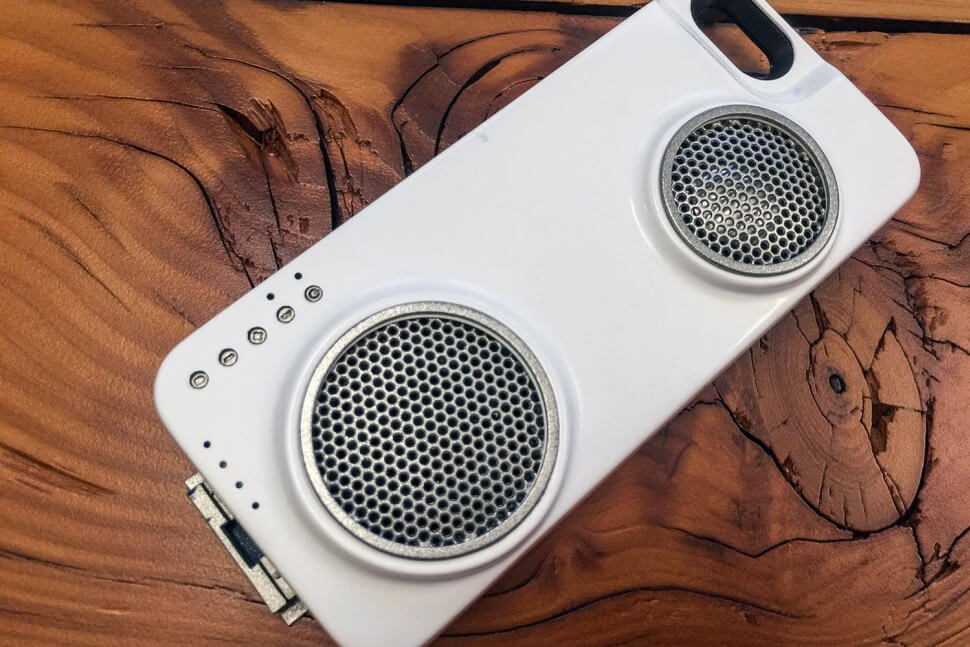 PERI Duo: 1st WiFi Bluetooth Speaker & Charge Case