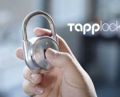 TAPP: The World's First Smart Fingerprint Padlock