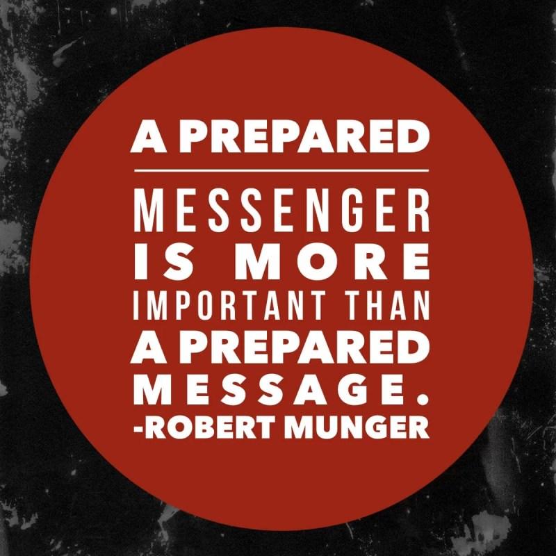 preaching quote robert munger