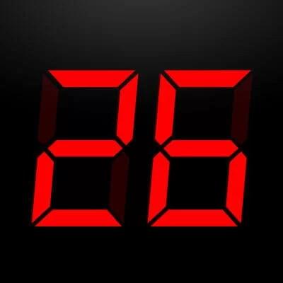 Presentation Clock iPhone app