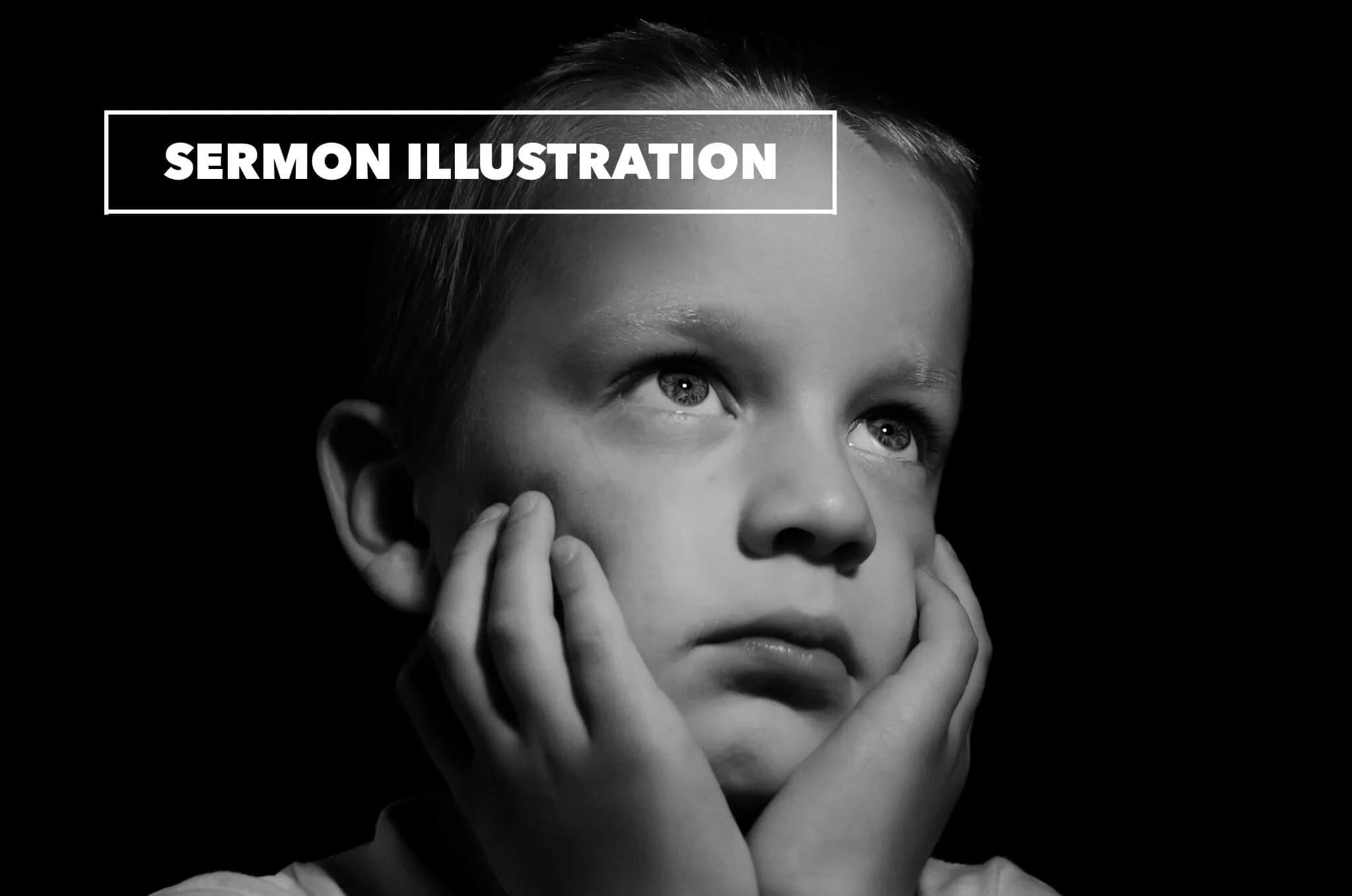 sermon illustration on stress