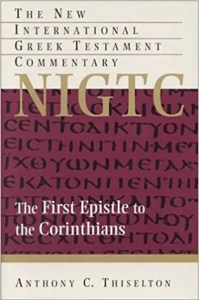 best commentaries on the book of 1 Corinthians