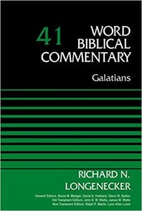 best commentary on Galatians