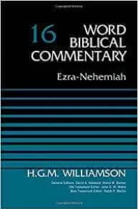 best commentary on Ezra and best commentary on Nehemiah
