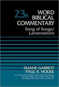 best commentary on Lamentations