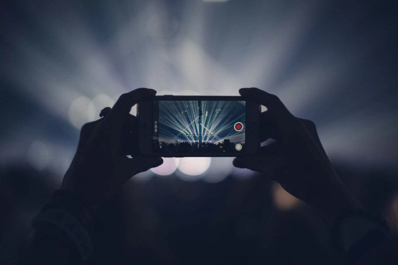 iPhone video camera for church videos