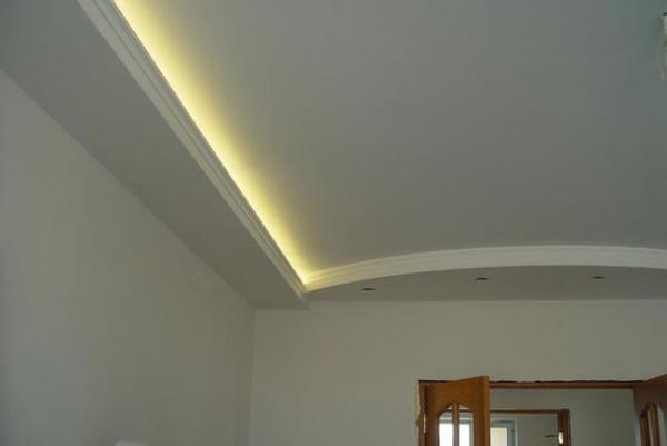 Как сделать потолок из гипсокартона: видео инструкция