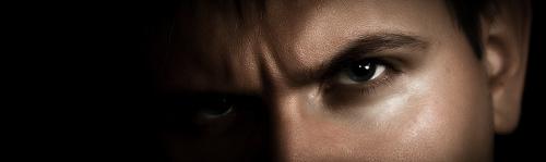 Villian - villainous-looking man