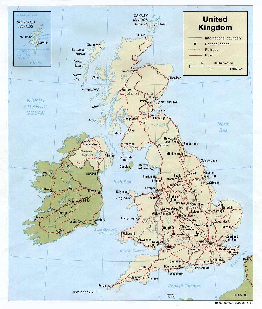 Test Your Knowledge On The United Kingdom