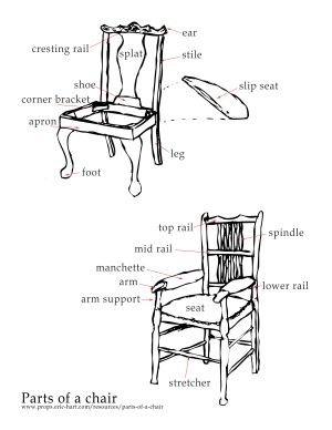Parts of a Chair | Prop Agenda