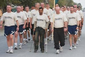 Mushfiq asked his former military unit to get him safe haven at Bagram. His request to come to the U.S. has been delayed by bureaucracy. (Photo courtesy of Pratap Chatterjee.)