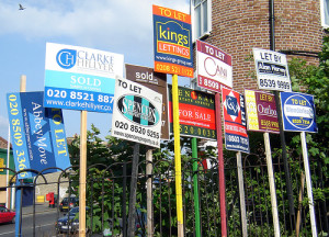 Spoilt for choice for estate agents