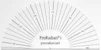 ProRadian® 1 Radian-Scale Protractor