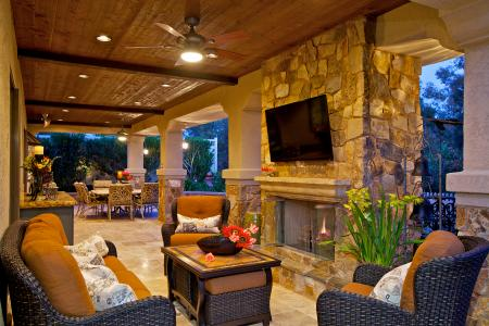 Houzz Study Finds Outdoor Living Spaces Increasing | Pro ... on Houzz Outdoor Living Spaces id=97727