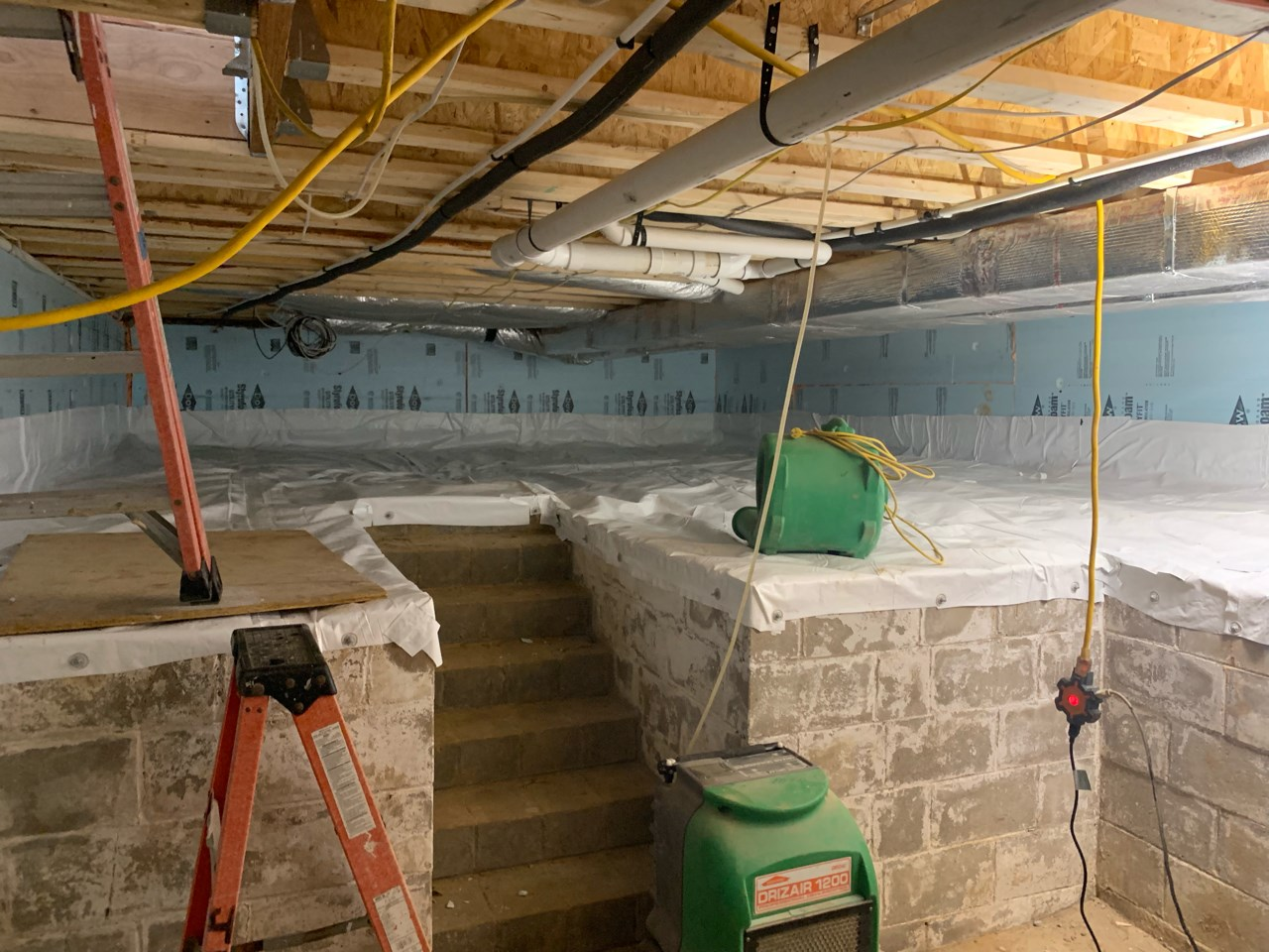 crawlspace to a basement