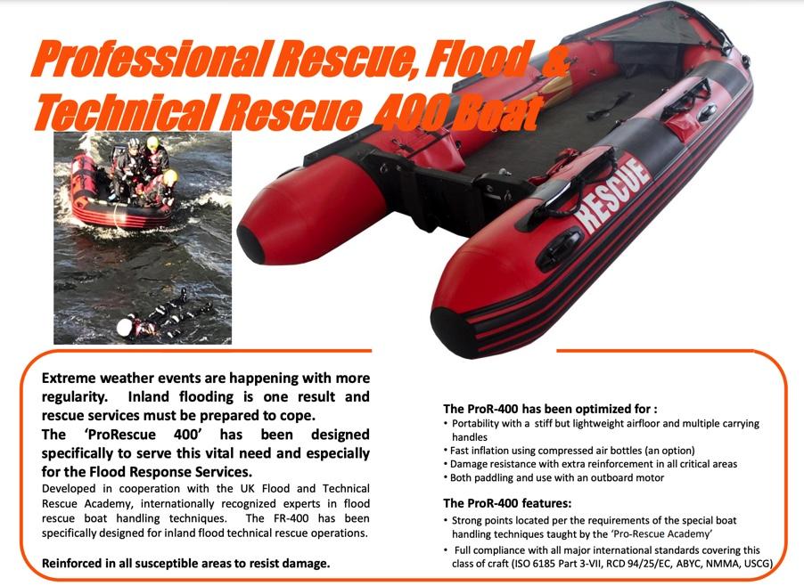 Technical Rescue 400 Boat