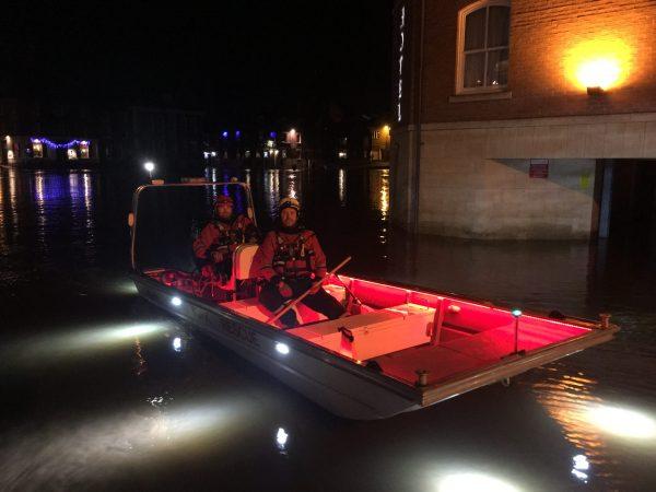 Night Flood Training in York