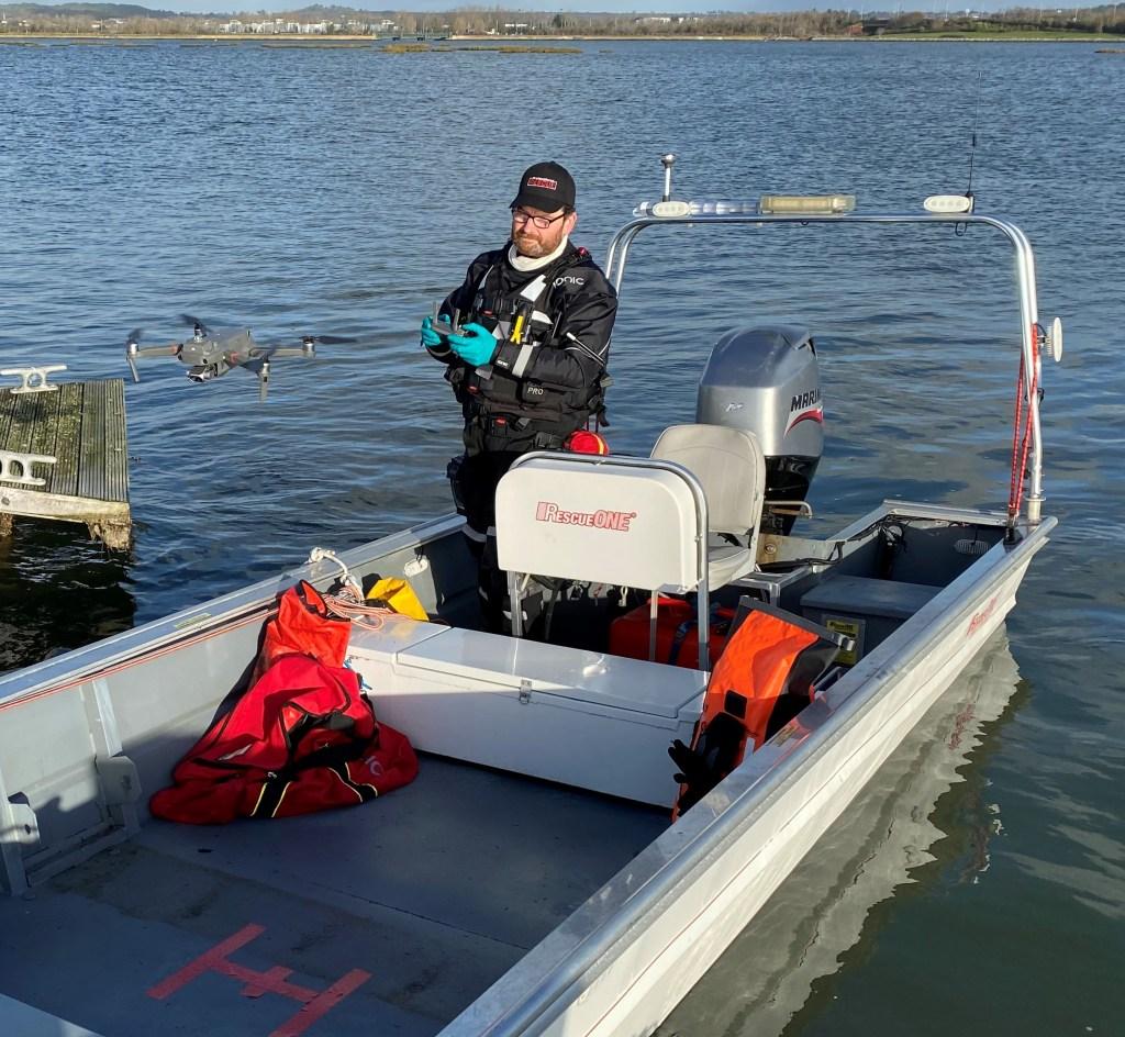 Remote Pilot Rescue Boat Platform