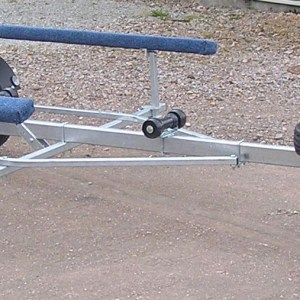 Full Carpeted Bunk Supported Boat Trailer