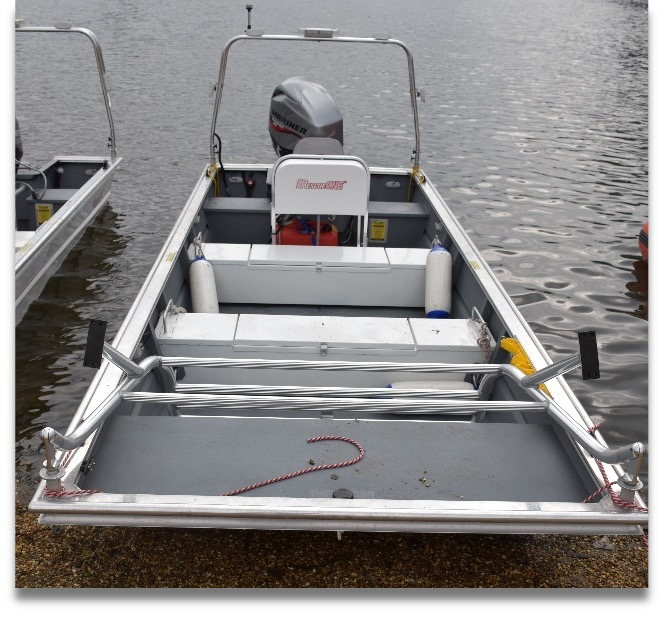 RescueOne Boat 1673 series + kit