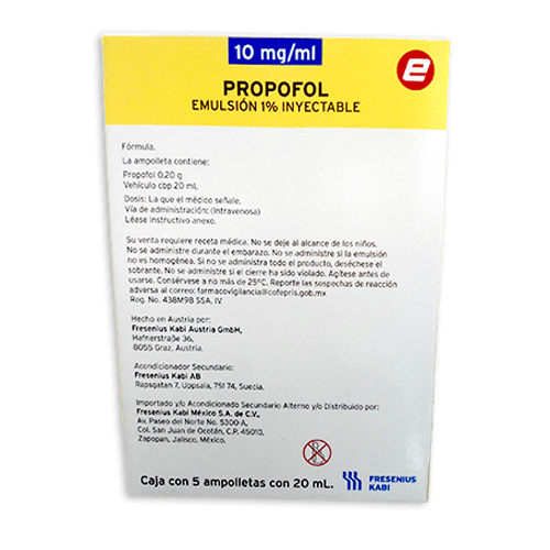 propofol inyectable