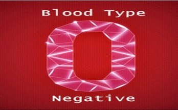 O Negative Blood Type