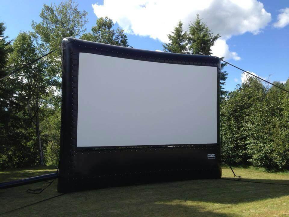 Outdoor Screen hire