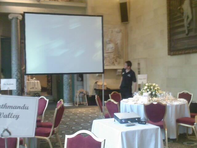 8ft screen hire wedding screen hire
