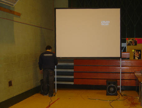 projector and screens Hire Surrey and London