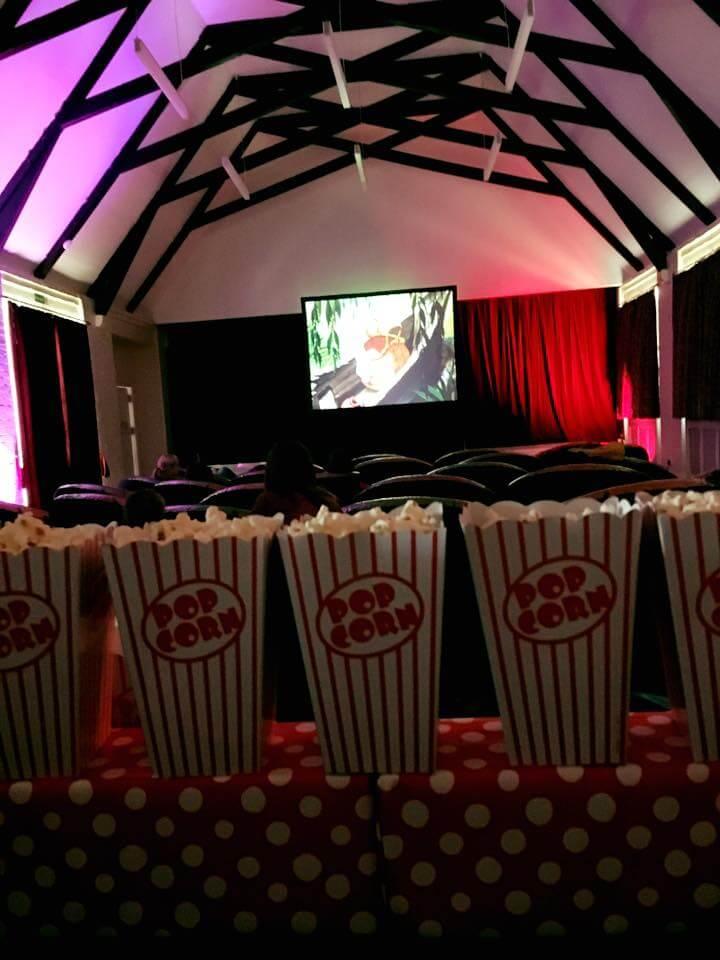 Kids cinema screen hire