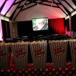 Kids cinema screen hire