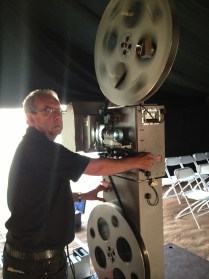 35mm projector Hire