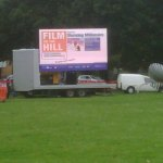 LED Outside Screens Hire