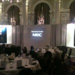 Event screen hire London