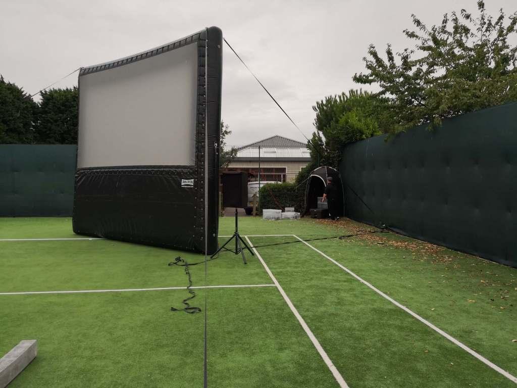 Mobile Cinema Hire and Cinema Screens Hire pop up cinema hire