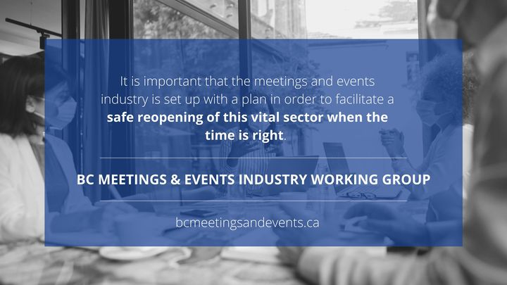 BC Meetings & Events Industry Working Group | Proshow Virtual Events