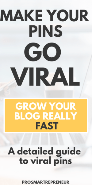 Viral Pin checklist – How To Force a Pin To Go Viral pinterest image