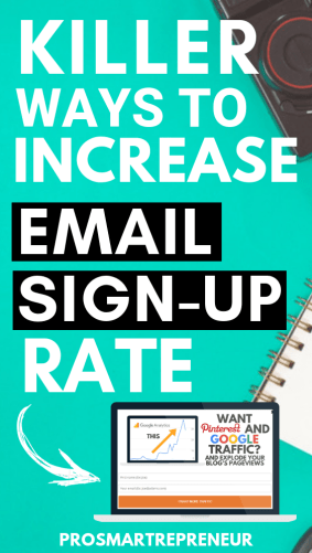 list building Strategies - ways to skyrocket your email signups